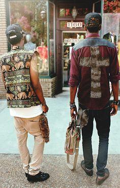 "PHRESH ""Jungle Refuge Vest"" KOOLGUYZ made his ""No Church In The Wild Shirt"""