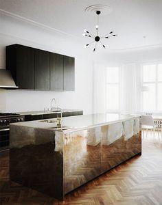 4 Super Genius Cool Tips: Ultra Minimalist Interior Woods minimalist interior color inspiration.Cozy Minimalist Home Beams minimalist home architecture interiors.Minimalist Home Interior Rose Gold. Küchen Design, Home Design, Layout Design, Design Ideas, Floor Design, Cuisines Design, Minimalist Decor, Minimalistic Kitchen, Minimal Kitchen