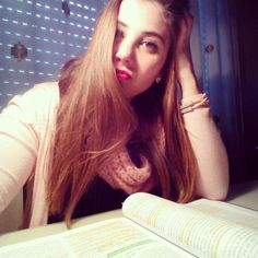 @psicofanX estudiando en casa. #selfiuned Long Hair Styles, Beauty, Pageants, Studying, Reading, Long Hairstyle, Long Haircuts, Long Hair Cuts, Beauty Illustration