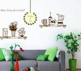 Relax Living Life for The Full Wall Decorative Wall Decal - Vinyl Wall Art Sticker