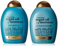 OGX Renewing Argan Oil of Morocco Shampoo  Conditioner 13 fl Oz -- Be sure to check out this awesome product.