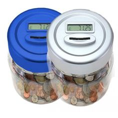 #SlammingLowPrices: Electronic UK Coin Counting Money jar With Digital...