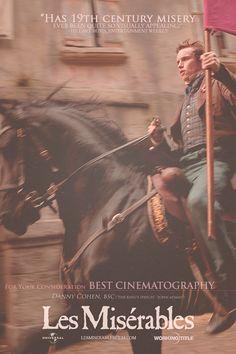Les Mis (2012) | For Your Consideration: Les Miserables, Best Cinematography.