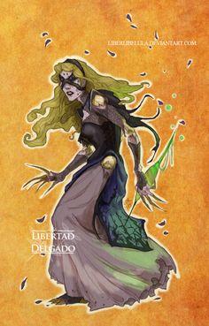 Princesas de Disney rediseñados como 'World of Warcraft' Personajes - Parte 12