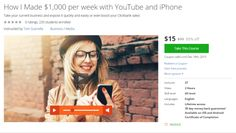 How I Made $1000 per week with YouTube and iPhone  http://hii.to/N19Yq6OHe  #youtube #iphone #make money #clickbank