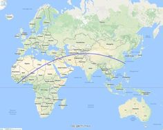 World map without names geographic maps pinterest the longest straight line on a map you can draw without touching an ocean gumiabroncs Choice Image