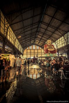 Indoor Reflections - Tour&taxis by BouchraDraouiPhoto on 500px
