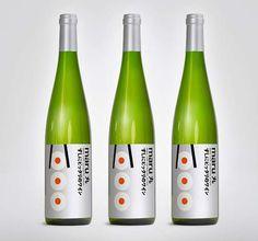 Maru Wine label #packaging