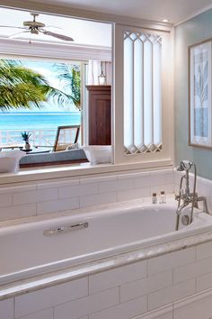 What We Love: A soaking tub with ocean views. Heritage Le Telfair Golf & Spa Resort (Bel Ombre, Mauritius) - Jetsetter