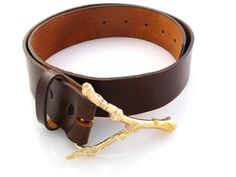 Twig Belt Buckle. via The Cools