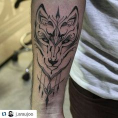 Fresh WTFDotworkTattoo Find Fresh from the Web #Repost @j.araujoo with @repostapp  Wolf. . #tribal #ornamental #tattoo #tattoos #santoscitytattoo #blackwork #blacktattoo #equilattera #inspirationtatto #artist #electricink #usoelectricink #tattoo2me #tatuagensfemininas #dotworktattoo #dotwork #wolf #lobo #tatuagem santoscitytattoo WTFDotWorkTattoo