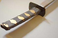 Make a Samurai katana sword with this easy tutorial for kids.