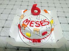 Mini Bolo Mesversário/Mini Cake 3 slices