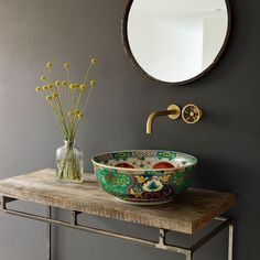 Totally smitten by the beautiful basins @londonbasincompany ! This picture shows us the Adriana basin. More on the blog Belgian Pearls today. #londonbasincompany #basins #totallysmitten @londonbasincompany @belgianpearlsblog