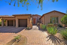 9431 E Ironwood Bend, Scottsdale, AZ 85255. Maracay Home for sale in gated DC Ranch. 4 beds/2.5baths/3,136sqft. Paver front and back patios. Chefs Dream Kitchen, stacked stone fireplace, and vaulted ceilings. $848,630