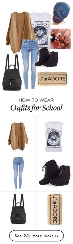 """School: Tuesday"" by lylydenisegaston on Polyvore featuring moda, G-Star y rag & bone"
