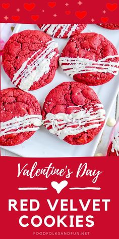 These cookies are soft and chewy on the inside but crisp around the edges. They make the perfect treat for Valentine's Day, the 4th of July, and Christmas with their bright, vibrant red color.