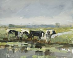 """New Calendar 2013 featuring 12 months paintings """"COWS"""" by Roos Schuring $28.00 (=€22,-) www.roosschuring.com/shop --Free Calendar with Card order! (until Dec 31st)"""