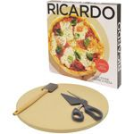 Ricardo Pizza Stone 3-pc. Set
