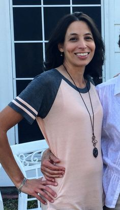 This is Veronica Brotherton wearing a Laurelynn pendant during the Christmas holidays in South Texas. Veronica has devoted her life to service as a Special Education teacher and Youth Worship leader. I am so happy she loves wearing Laurelynn jewelry!