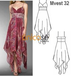 Amazing Sewing Patterns Clone Your Clothes Ideas. Enchanting Sewing Patterns Clone Your Clothes Ideas. Sewing Dress, Dress Sewing Patterns, Sewing Clothes, Clothing Patterns, Dress Trousers, Trousers Women, Fashion Sewing, Diy Fashion, Mode Russe