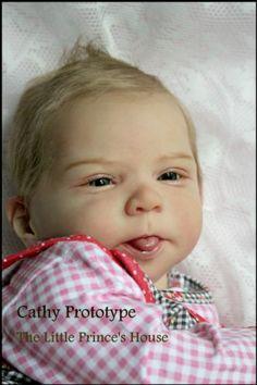Prototype Cathy by Olga Auer Reborn Doll Chubby Baby Girl Newborn | eBay