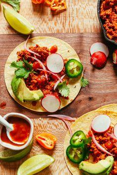 "10-Minute Raw Vegan Taco ""Meat"""