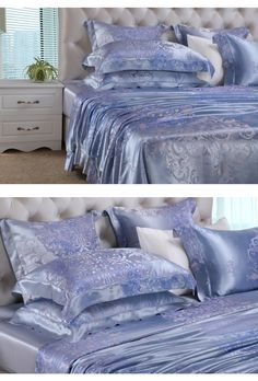 silk luxury bedding cheap silk sheets queen size     https://www.snowbedding.com/