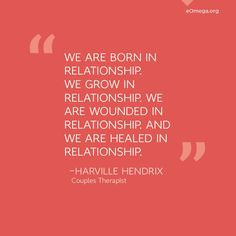 Harville Hendrix, author of Making Marriage Simple, offers advice on how to heal the past and enjoy your present relationship.
