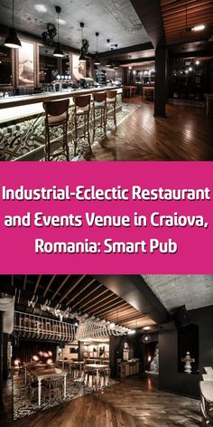 Bucharest-based studio Yellow Office completed the design and development of a high quality restaurant and events venue near Preajba lake in Craiova, Romania. Retro Light Bulbs, Eclectic Restaurant, Yellow Office, Natural Wood Flooring, Retro Lighting, Main Theme, Comfortable Sofa, Bucharest, Event Venues