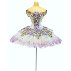 Lilac fairy ballet costume from Sleeping Beauty Ballet ❤ liked on Polyvore featuring costumes, blue costume, fairy costume, princess aurora costume, fairy halloween costume and blue ballet costume