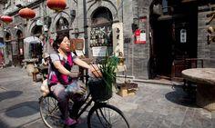 China - Beijing - Hutong street just south of Tiananmen