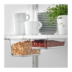 ИКЕА/365+ Держатель д/контейнера IKEA Этот держатель для контейнера позволяет эффективно использовать пространство под полками.