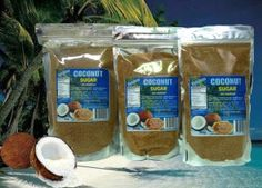 BANABAN COCONUT SUGAR low GI 35. Now back in stock 500gram and 1kg sizes