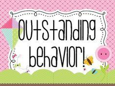 Cute Classroom Behavior Chart