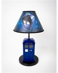Dr. Who Tardis Table Lamp