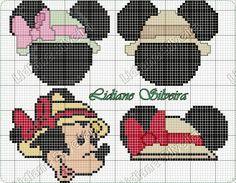 Pinta e Borda (Lidiane Silveira): Turma do Mickey