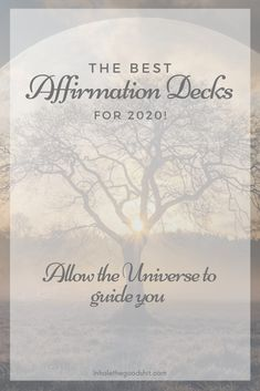 The best Affirmation Decks for 2020 Read this article for the most beautifully designed affirmation decks with the most inspiring daily affirmations Spiritual Guidance, Spiritual Life, Inspiring Quotes About Life, Inspirational Quotes, Read Sign, Spiritual Transformation, Law Of Attraction Affirmations, Affirmation Cards, Positive Psychology