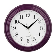 Stylish Pink Vintage Wall Clock combines style and functionality to ensure a long lasting addition to your home. Ideal for use in your bedroom or kitchen. Shaker Doors, Home Living, Grey Walls, Vintage Pink, Bold Colors, Color Mixing, Home Goods, Hot Pink, Blue