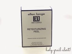 Holy Grail Alert! Ellen Lange Retexturizing Skin Peel   Gouldylox