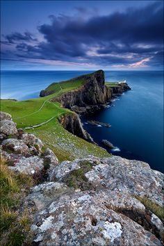 Neist Point, Duirinish Peninsula, Isle of Skye, Scotland,