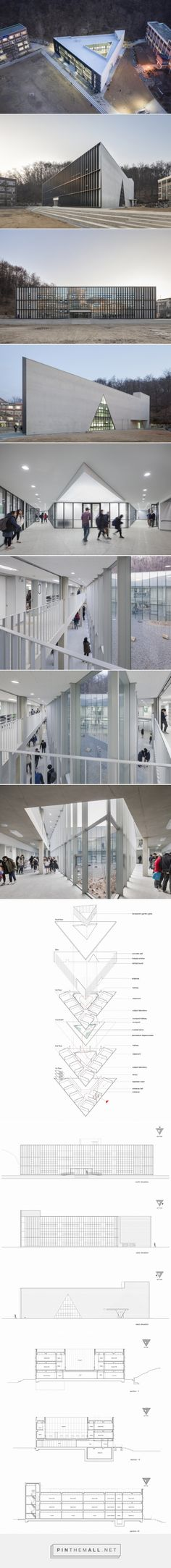 DH triangle school in korea completed by nameless architecture - created via http://pinthemall.net