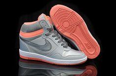size 40 4b154 c588f Pas Cher Nike Force Sky High PRM Lumière Orange Pour Femmes Chaussures à La  Boutique en. Air ...