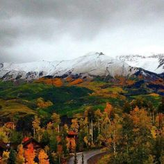Autumn In Telluride, Colorado. .......... What beauty lies before your eyes! October 13, 2015