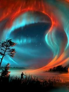30 Super Ideas For Photography Night Nature Aurora Borealis Cool Pictures, Cool Photos, Beautiful Pictures, Beautiful Sky, Beautiful Landscapes, Northen Lights, Natural Phenomena, Amazing Nature, Belle Photo
