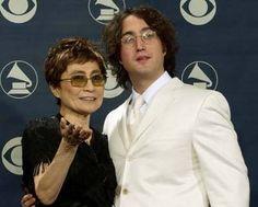 Yoko and Sean Lennon