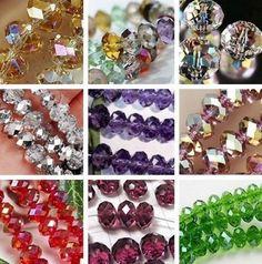 Wholesale New Multicolor Swarovski Crystal Loose Beads 6x8mm / 4x6mm  #Default #Default