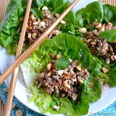 Asian Lettuce Wraps Recipe - RecipeChart.com