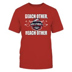 """With Each Other, For Each Other- Nebraska Championship Volleyball T-Shirt, """"With Each other, for each other"""" is the slogan for the University of Nebraska Husker volleyball team. Congratulations to the University of Nebraska Volleyball team in winning the 2017 NCAA Volleyball Championship. ORDER TODAY- while supplies last, limited time offer CLICK THE GREEN BUTTON for... ,  Available Products:          Gildan Unisex T-Shirt - $25.95 Gildan Long-Sleeve T-Shirt - $33.95 Gildan Unisex Pullover…"""