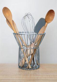 Just Around the Bend Basket | Mod Retro Vintage Decor Accessories | ModCloth.com $20